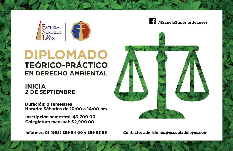 DIPLOMADO TEÓRICO-PRÁCTICO EN DERECHO AMBIENTAL